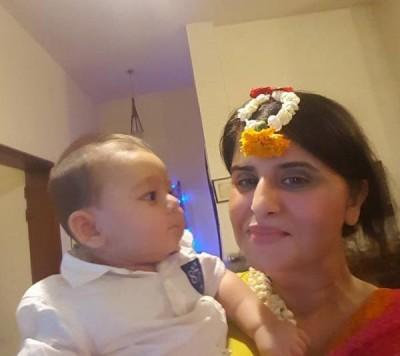 Mehndi Pictures of Astrologer Samiah Rashid