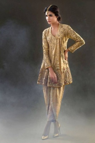 Pictures of Nadia Farooqui Formal Dresses 2016