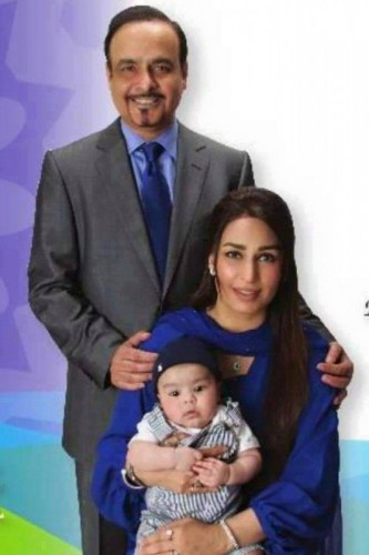 Actress Reema resides with her son in USA.