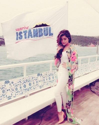 "Sohai's Click From Maria Wasti's Morning Show ""Sunrise From Istanbul"""