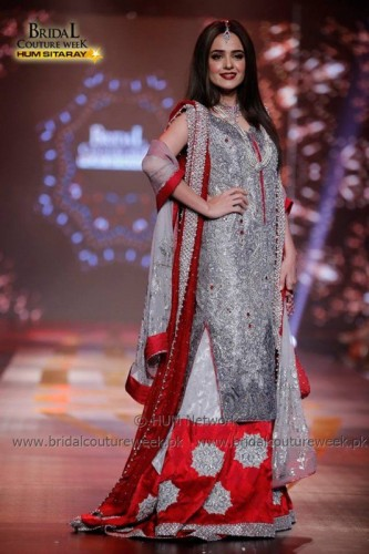 Sumbul Iqbal at Bridal Couture Week