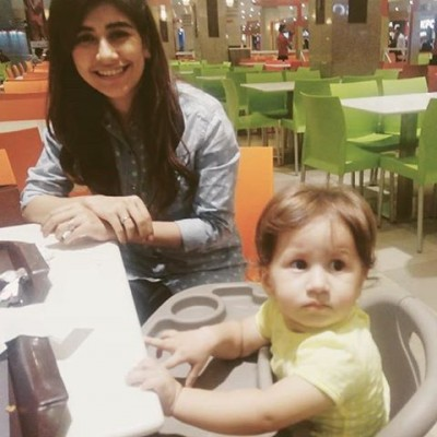 Nooreh Shehroze is the daughter of Syra Shehroze.