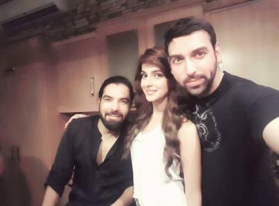 Saba Qamar and Yasir Hussain