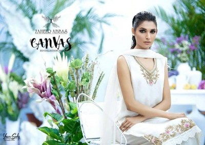 Zaheer Abbas Eid Dresses For Women 2016