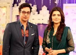 Faysal Qureshi and Nida Yasir