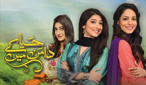 Haya kay daman main at Hum TV
