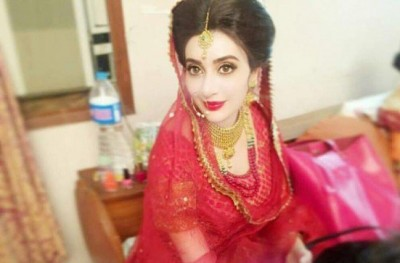 Ayesha Khan Bridal photoshoot 2016
