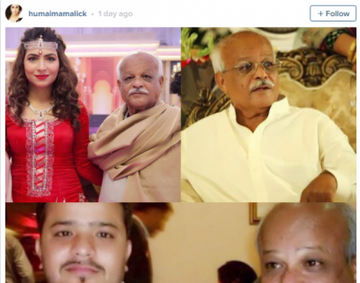 Celebrities wishing their fathers on Fathers day