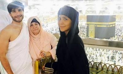Humaima Malick and Feroze Khan performed Umrah