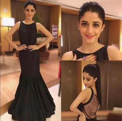 Mawra Hocane At GQ Best Dressed Awards 2016 India Pics