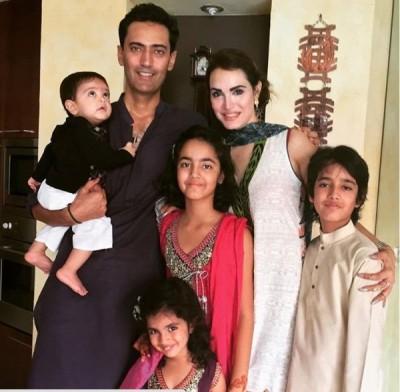Nadia Hussain Family Photos