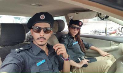 Ushnah Shah & Mohsin Abbas couple for Jhoot Wala Love