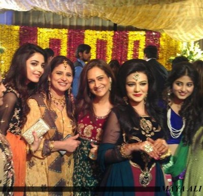 Asma Abbas Daughter Zara Abbas Wedding Pictures