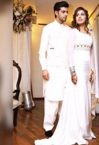 Furqan Qureshi and Sabrina Naqvi Nikkah Pictures