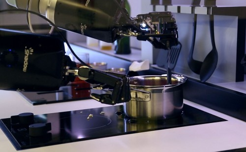 Robots Chefs for Foods in Kitchen