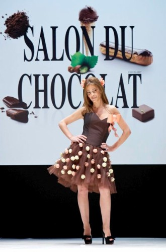 Chocolate Fashion Show in London