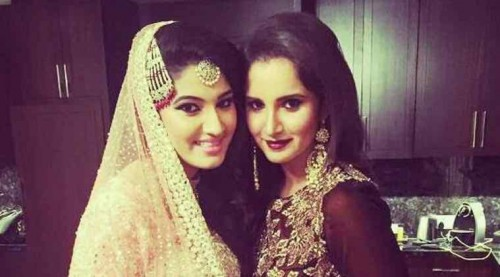 Sania Mirza's Sister Wedding Pictures