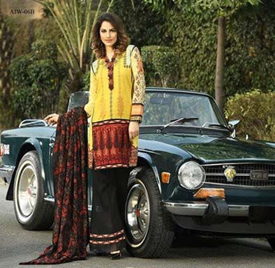 Asim Jofa Winter Women Dresses 2016-2017