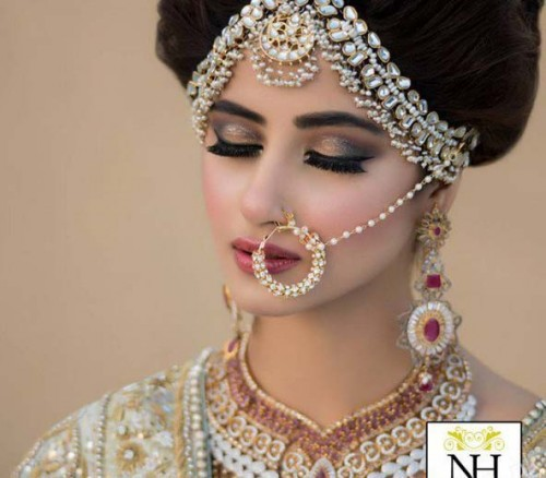 Sajal Ali Bridal Photoshoot 2016