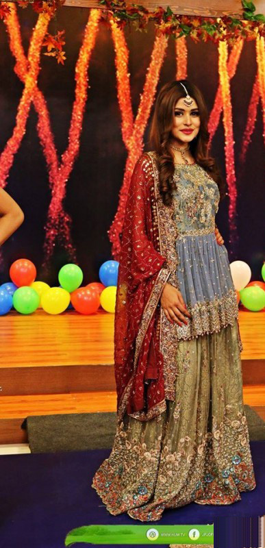 "Bridal Fashion Trends in ""Jago Pakistan Jago"""