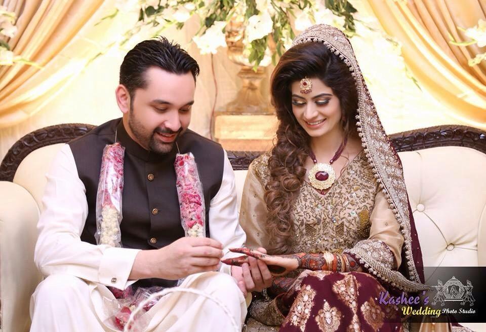 Usman and faiza wedding