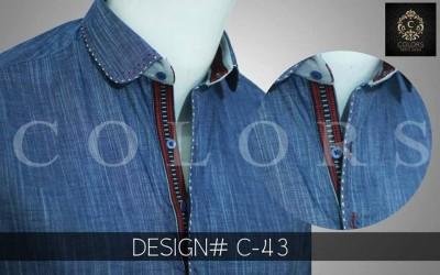 Blue Kurta Design 2017