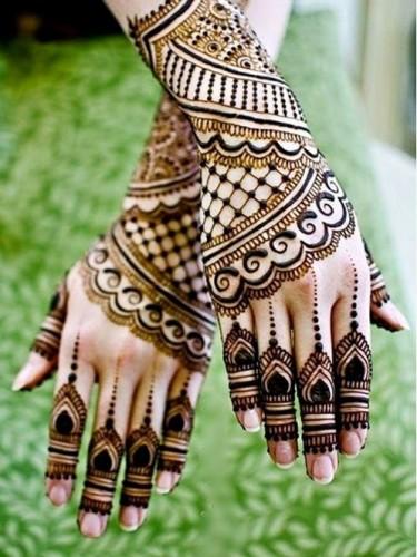 Indian Arabic Mehndi Design