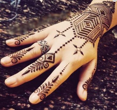 Bracelet Style Eid Henna Design
