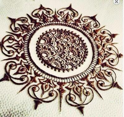 Circle Designed Tikka for Eid ul Fitr