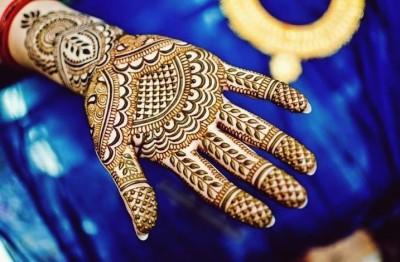 Eid ul Fitr Geometrical Mehndi Pattern