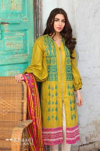 Khaadi Lawn 2 Piece Collection 2017 Vol-2