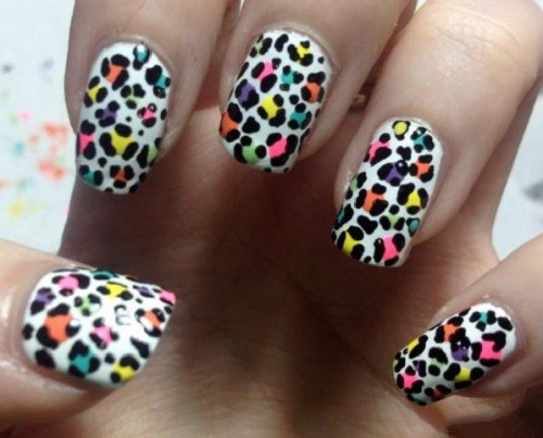 Leopard Print Nail Design Ideas