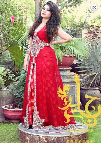 Jannat Nazir Party Wear Dresses 2017