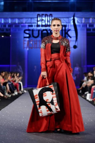 HSY Paranoia Collection at Sunsilk Fashion Week 2017