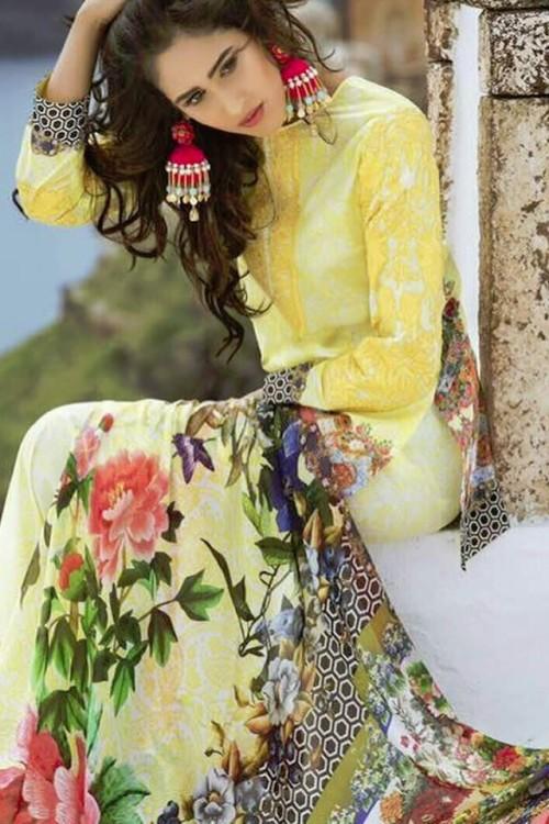 Honey Waqar Summer Lawn Collection 2017