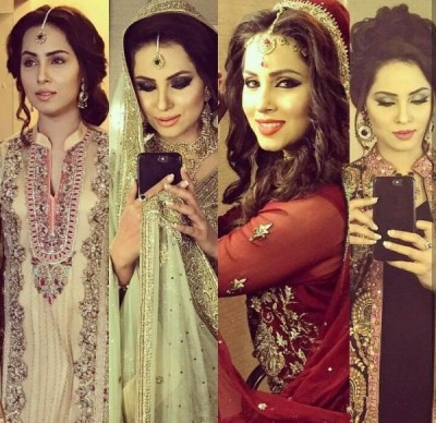 Nimra Khan Bridal Shoot