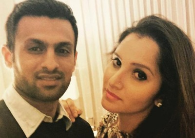 Shoaibe Malik and Sania Wedding Anniversary in Pictures