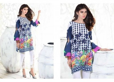 Lawn Kurti Vol 1 Collection by Charizma