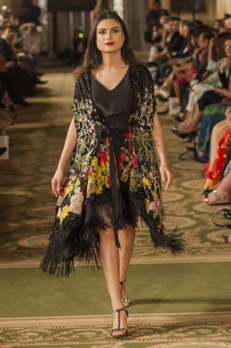 Sana Safinaz Chateau Marmont Collection 2017 PFW11 London
