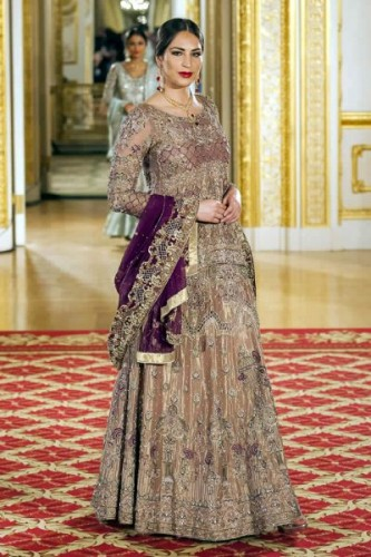 Shazia Kiyani Bridal Collection at PFW11 London