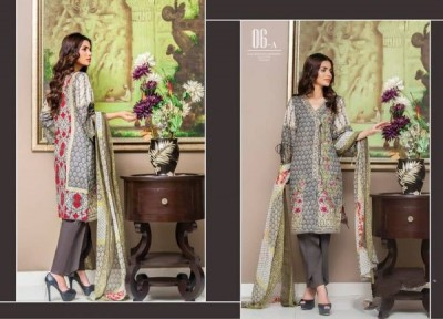 Pakistani Designer Embroidered Lawn Sahil Vol 8