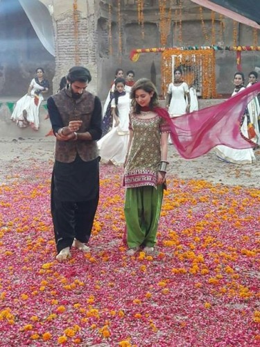 Hania Amir and Hadiqa Kiani Shoot