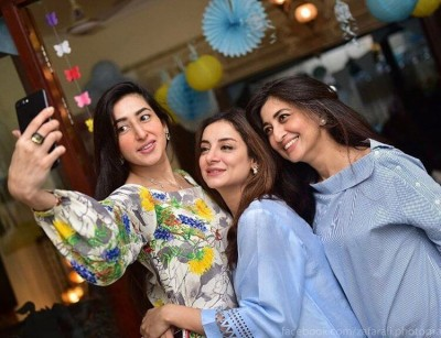Sarwat Gillani Baby Shower Pictures