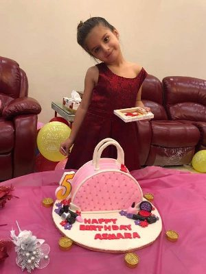 Shahid Afridi daughter Asmara Birthday Pictures