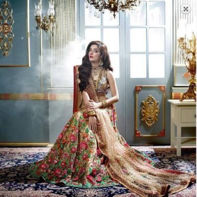 Latest Walima Dress Designs 2017 Pakistan Brides Dresses