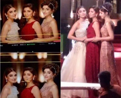 Lux TVC leaked Pictures Showing Maya, Mahira and Mawra Hocane