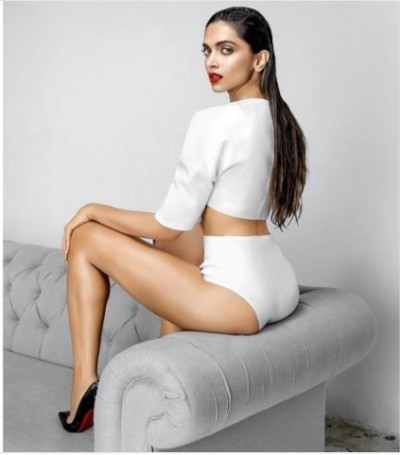 Controversial Photo Shoot of Deepika Padukone