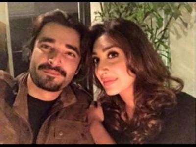Hamza Ali Abbasi and Aesha Khan