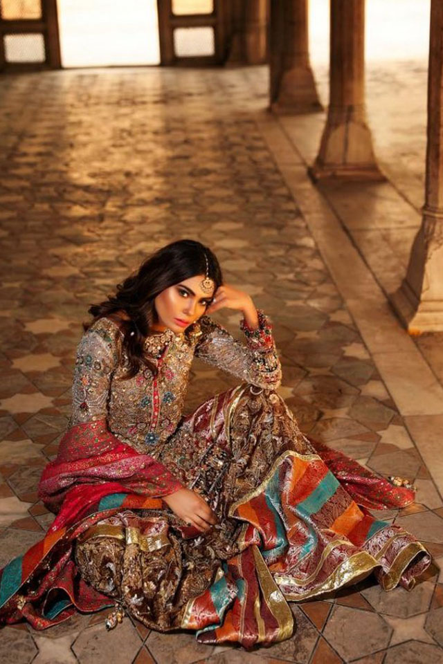 Annus Abrar Latest Bridal Collection 2018