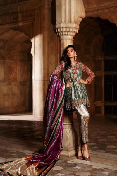 Annus Abrar Latest Bridal Collection 2018